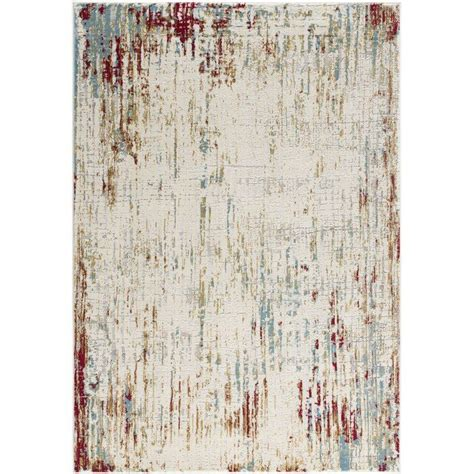 quinten soft durable beigered area rug  images