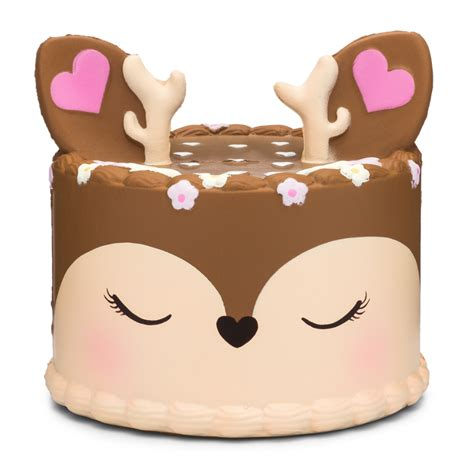 frosted fairytales deer cake jumbo squishy kawii