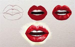Bilder Zeichnen Für Anfänger : lippen zeichnen f r anf nger zeichnen lernen dekoking com 4 zeichnen malen lippen ~ Frokenaadalensverden.com Haus und Dekorationen