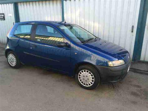 fiat punto 2001 fiat punto 1 2 blue 2001 y reg 88 000 miles car for sale