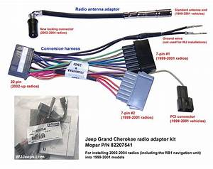 2001 Jeep Grand Cherokee Radio Wiring Diagram