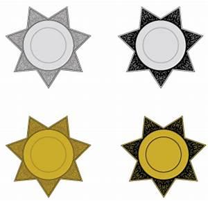 Customizable Plastic / Aluminum Star / Cowboy / Sheriff ...