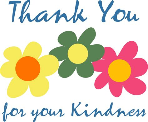 Thank You For Your Generosity Clipart Clipartxtras