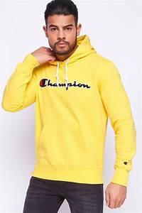 Sweat A Capuche Jaune : sweat capuche jaune champion 212940 brentiny paris ~ Melissatoandfro.com Idées de Décoration
