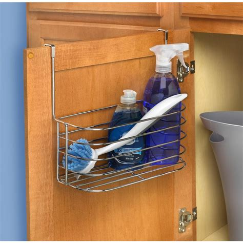 how to organize the kitchen cabinets neu home overdoor 6 basket storage unit 17716w 1 the 8776