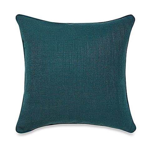 bed bath and beyond sofa pillows buy teena throw pillow in dark teal from bed bath beyond