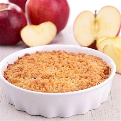 recette de cuisine simple et rapide recette crumble facile aux pommes express