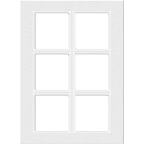 white glass cabinet doors kaboodle 400mm 6 panel glass cabinet door gloss white
