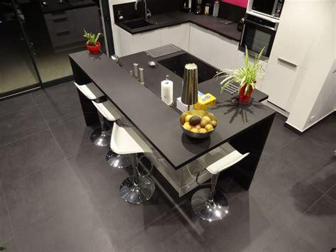 modele cuisine avec ilot bar attrayant modele cuisine avec ilot bar 3 r233novation