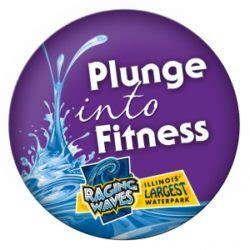 complete raging waves fitness program earn full day