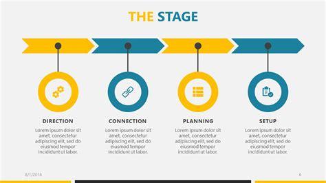 business roa roadmap powerpoint template   microsoft