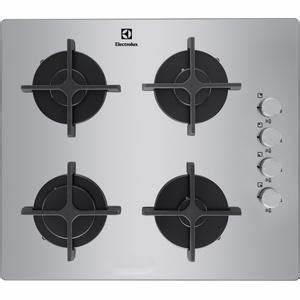 Plaque De Cuisson Gaz Verre Blanc : electrolux table cuisson gaz verre egt6142nox egt 6142 ~ Dailycaller-alerts.com Idées de Décoration