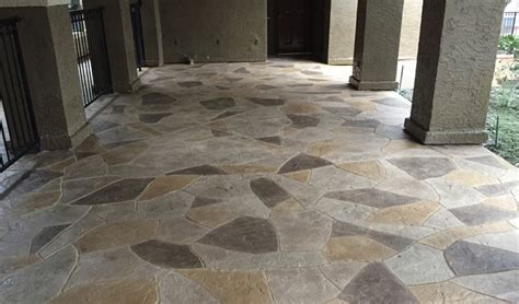 Outdoor Concrete Flooring Options   Concrete Craft