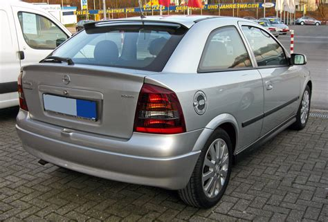 Opel Astra G by File Opel Astra G 20090402 Rear Jpg Wikimedia Commons