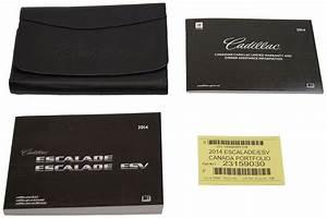 2014 Cadillac Escalade  U0026 Escalade Esv Owners Manual
