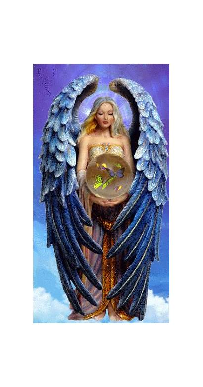 Angel Angels Among Gifs Drawing Warrior Demons