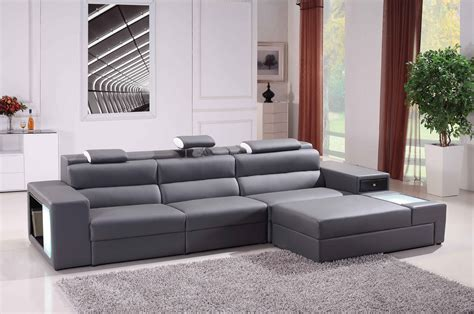 sectional and ottoman furniture modern grey sectional couches design with grey