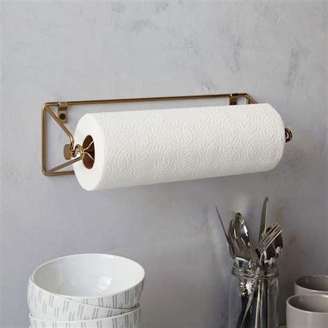 kitchen towel holder ideas modern paper towel holder for your kitchen and bathroom
