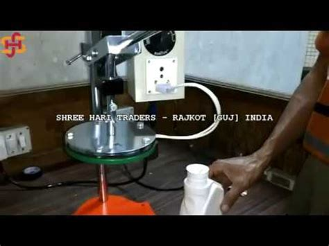 cap sealing machine   price  india