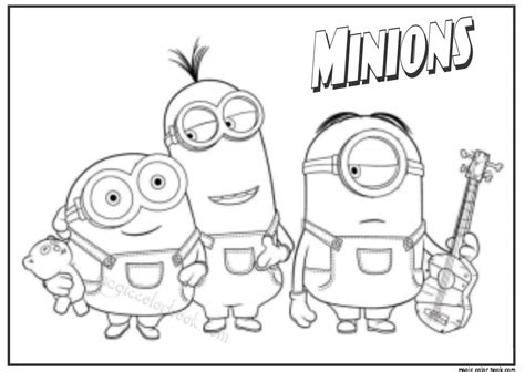 Pin Van Magic Color Book Op Minions Coloring Pages Free