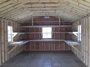 building wooden shelves in shed Online Woodworking Plans