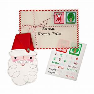 Letter to santa set by little baby company for Letter to santa set