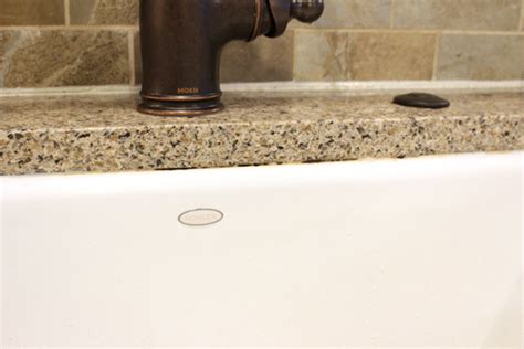 easy way to clean moldy caulk checking in with chelsea