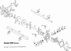 Ramsey Winch Hydraulic 200 Series Parts  H  D  Y 200