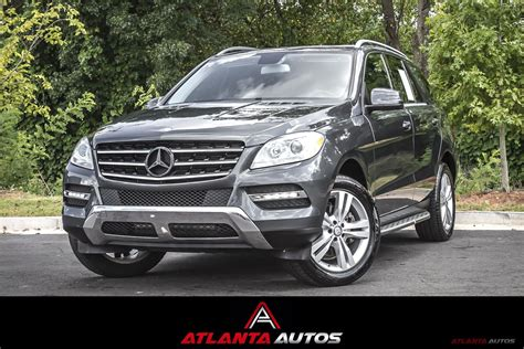 Tap the column header to sort. Used 2013 Mercedes-Benz ML350 For Sale ($18,999)   Atlanta Autos Stock #156323