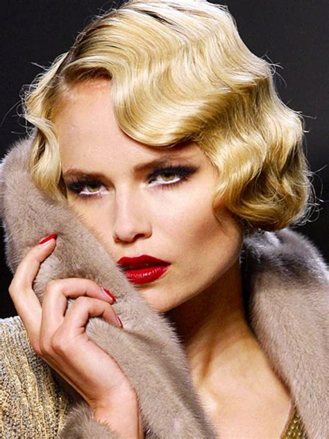 Finger Waves Will Look Amazing With New Hair Cut