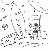 Rocket Coloring Pages Simple Activity Ages Complex Patterns sketch template