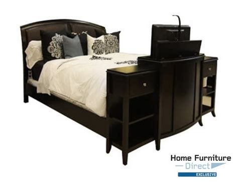 Footboard Tv Stand by 1000 Images About Tv Lift On Flats Console