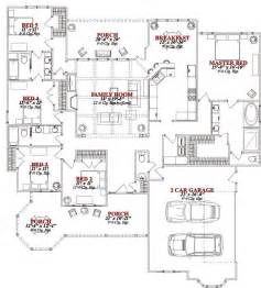 5 bedroom floor plans one 5 bedroom house plans on any websites