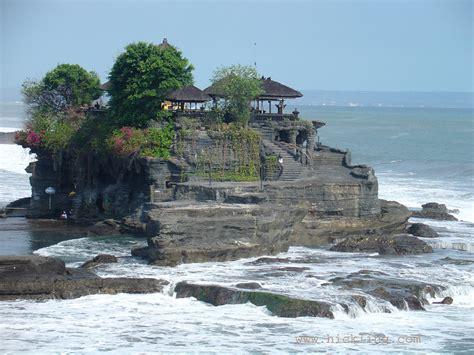 panorama wallpaper tanah lot bali indonesia