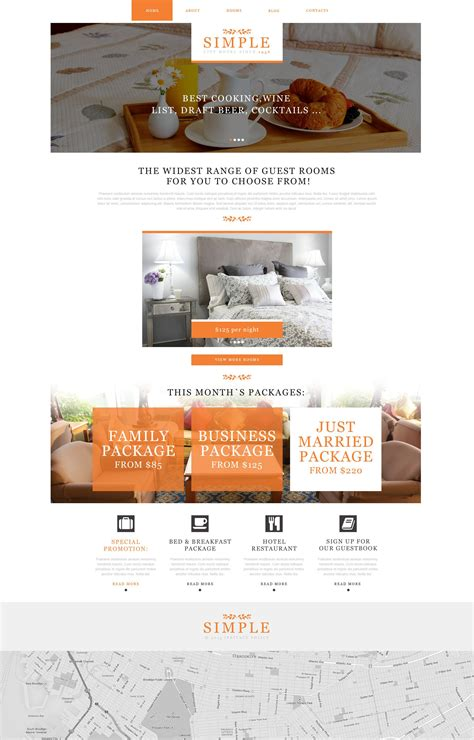 muse template  fuer hotels