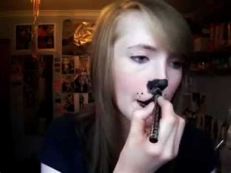 cute dogpuppy makeup tutorial youtube