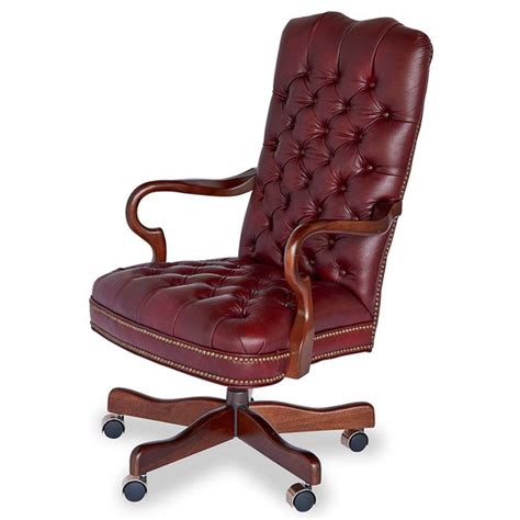 tufted ruby office chair king ranch saddle shop