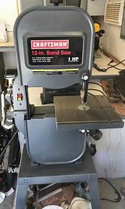 Craftsman 12 U0026quot  1hp Bandsaw W   Stand