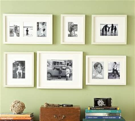 pottery barn gallery in a box binfield photography displaying family photos