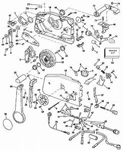 remote control evinrude johnson omc outboard motor parts With diagram of 1987 90etlh yamaha outboard control engine diagram and