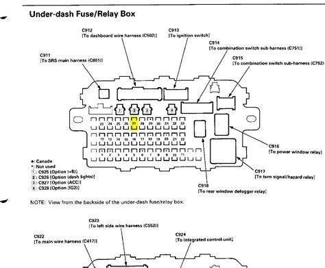 2000 Honda Accord Front Suspension Diagram