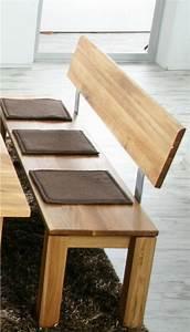 Esszimmerbank Mit Rückenlehne Holz : esszimmer bank mit lehne eine coole einrichtungsidee ~ Bigdaddyawards.com Haus und Dekorationen