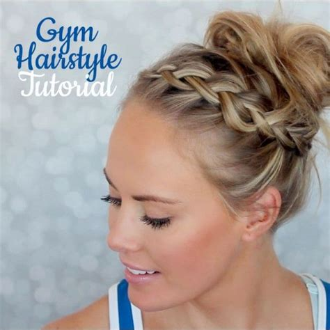 cute gym hairstyles for short hair 1000 images about cute gym hairstyles on pinterest gym