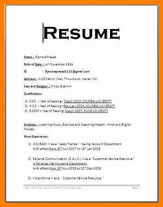 7 simple resume format legacy builder coaching for Easy resume format sample