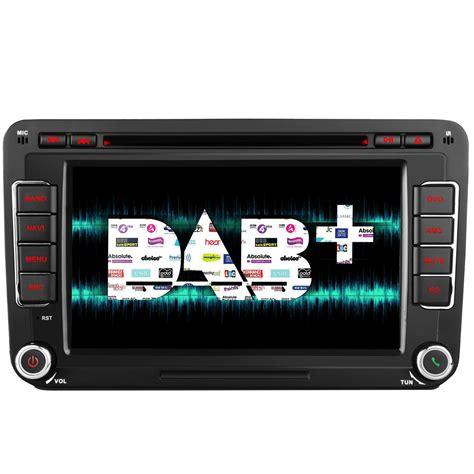 dab nachrüsten vw vw caddy transporter t5 dab radio unit stereo kudos gps satnav rns510 style ebay