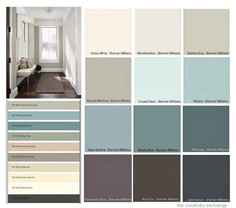 favorite colors from the 2015 paint color forecasts from