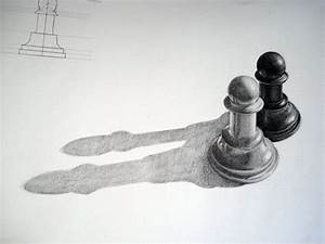 My Grinning Mind: Pencil drawn chess pawns