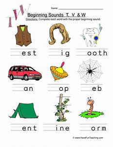 Alphabets V Sounds