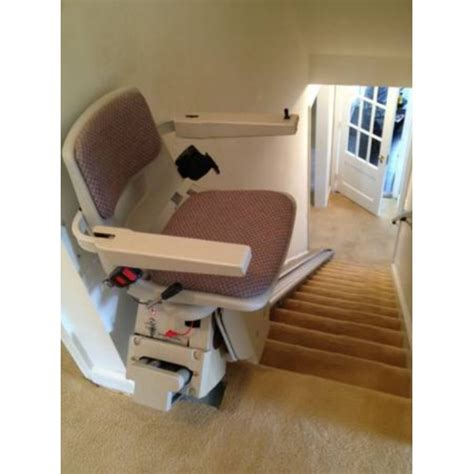 used battery powered stair lift installation included