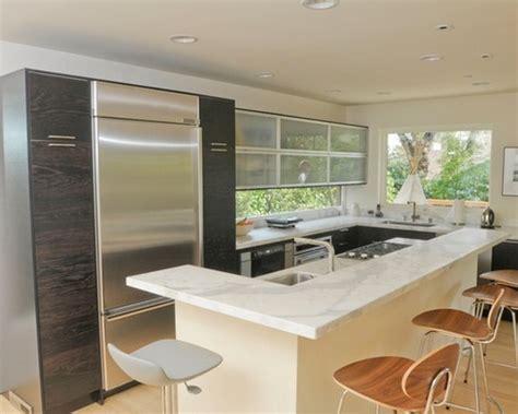 modern kitchen designs for small kitchens modern small kitchen design with cherry wood cabinets 9761